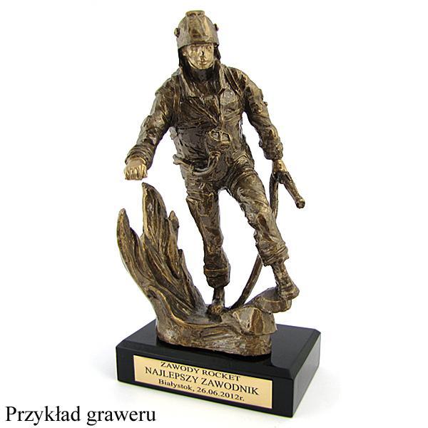 Statuetka odlewana strażak