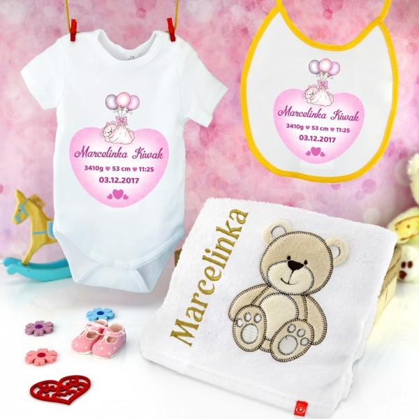 wyprawka dla noworodka z personalizacją