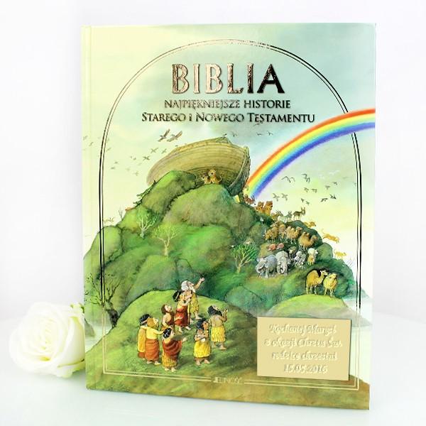biblia z okazji chrztu świętego