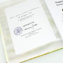 biblia na prezent dla chrześnicy z grawerem