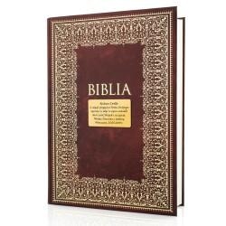 biblia na chrzest z grawerem dedykacji