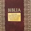 biblia z grawerem na chrzest