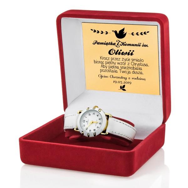 zegarek na komunię dla dziewczynki