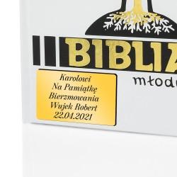 biblia ilustrowana z personalizacją