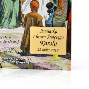biblia z grawerem na prezent dla chłopczyka