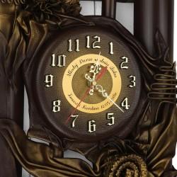 zegar z personalizacją na prezent dla pary