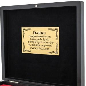 ekskluzywny prezent wizytownik i długopis z grawerem