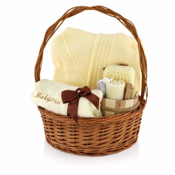 ręcznik i szlafrok na prezent na święta