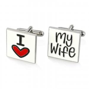 spinki na prezent dla męża na walentynki