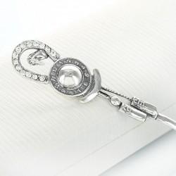 srebrna łyżeczka z podkówką