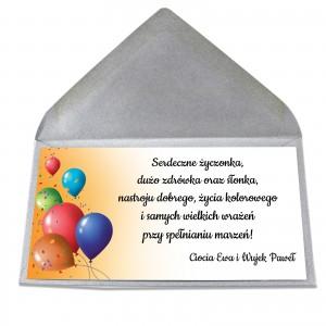 bilecik z życzeniami dla dziecka