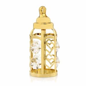 butelka swarovski na chrzciny