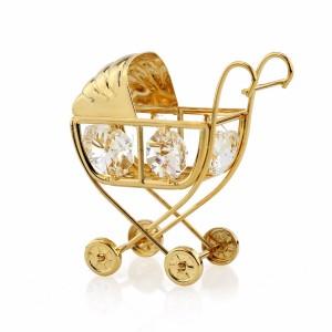 wózeczek swarovski jako prezent na chrzest