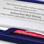 grawerowany długopis Parker na prezent