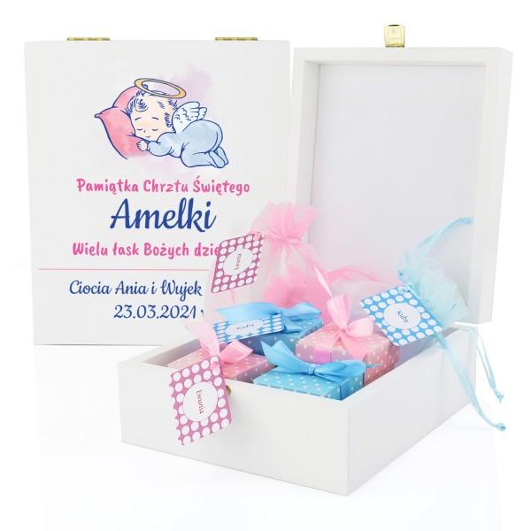 pudełko wspomnień na prezent dla dziecka