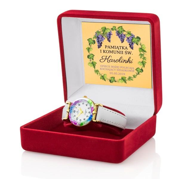 zegarek dla dziewczynki na komunię