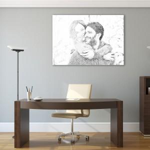 fotoobraz szkic z Twojego zdjęcia