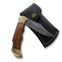 prezent dla wędkarza nóż z grawerem w etui