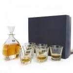 zestaw karafka i szklanki na prezent w eleganckim pudełku
