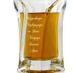 szklana karafka z grawerem na prezent