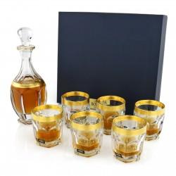 ekskluzywny zestaw karafki i szklanki