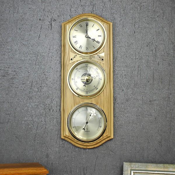 drewniany barometr na prezent z grawerem