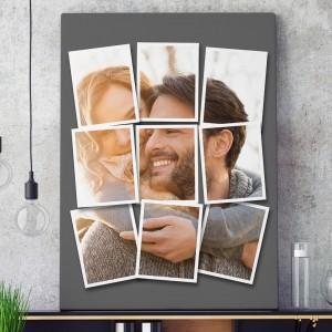 fotoobraz na płótnie ze zdjęcia 6 w 1 na wyjątkowy prezent dla niego