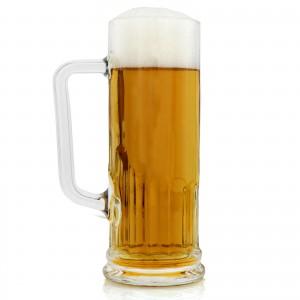 szklany kufel do piwa na upominek