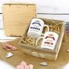 zestaw kubków z nadrukiem na prezent