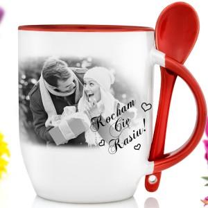 personalizowany kubek na prezent dla pary