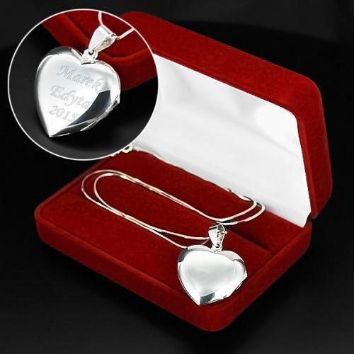 Prezent na mikołajki dla niej, srebrny sekretnik dla niej na prezent