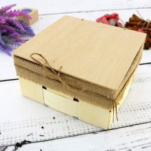 pudełko z łuby na kubki