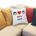 poduszka dla zakochanych