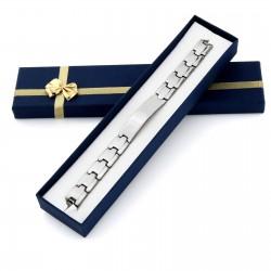 bransoletka z grawerem na prezent dla chłopaka
