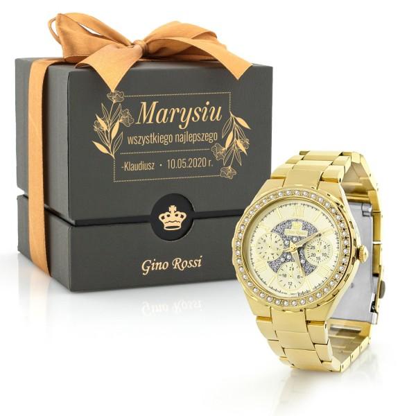 damski zegarek z grawerem na prezent