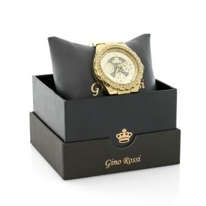 złoty zegarek gino rossi na prezent uroidzinowy