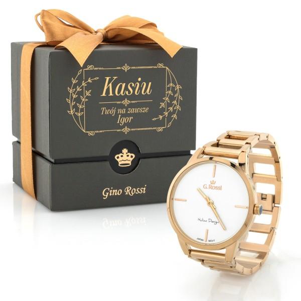 damski zegarek gino rossi na prezent