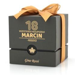 personalizowane pudełko z dedykacją na urodziny
