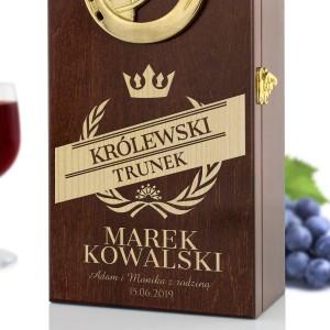 personalizowana skrzynka na wino