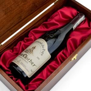 skrzynka na wino z grawerem na urodziny