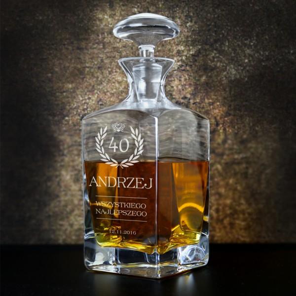 personalizowana karafka do whisky