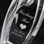 spersonalizowany szklany wazon