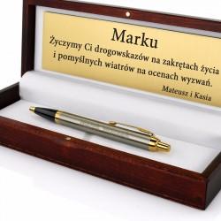 długopis Parker w etui z grawerem na prezent