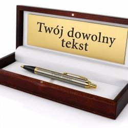 grawerowany długopis Parker w etui na prezent