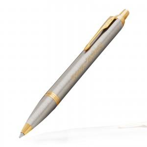 długopis grawerowany na prezent parker