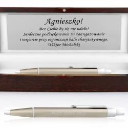długopis grawerowany na prezent dla kobiety