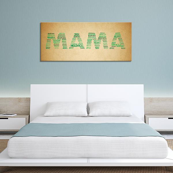 obraz na ścianę dla mamy z Twoich słow