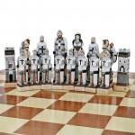 szachy marmurowe z grawerem