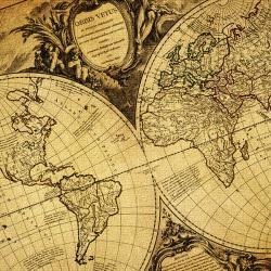 mapa świata z Twoją dedykacją