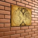 mapa świata pomysł na prezent